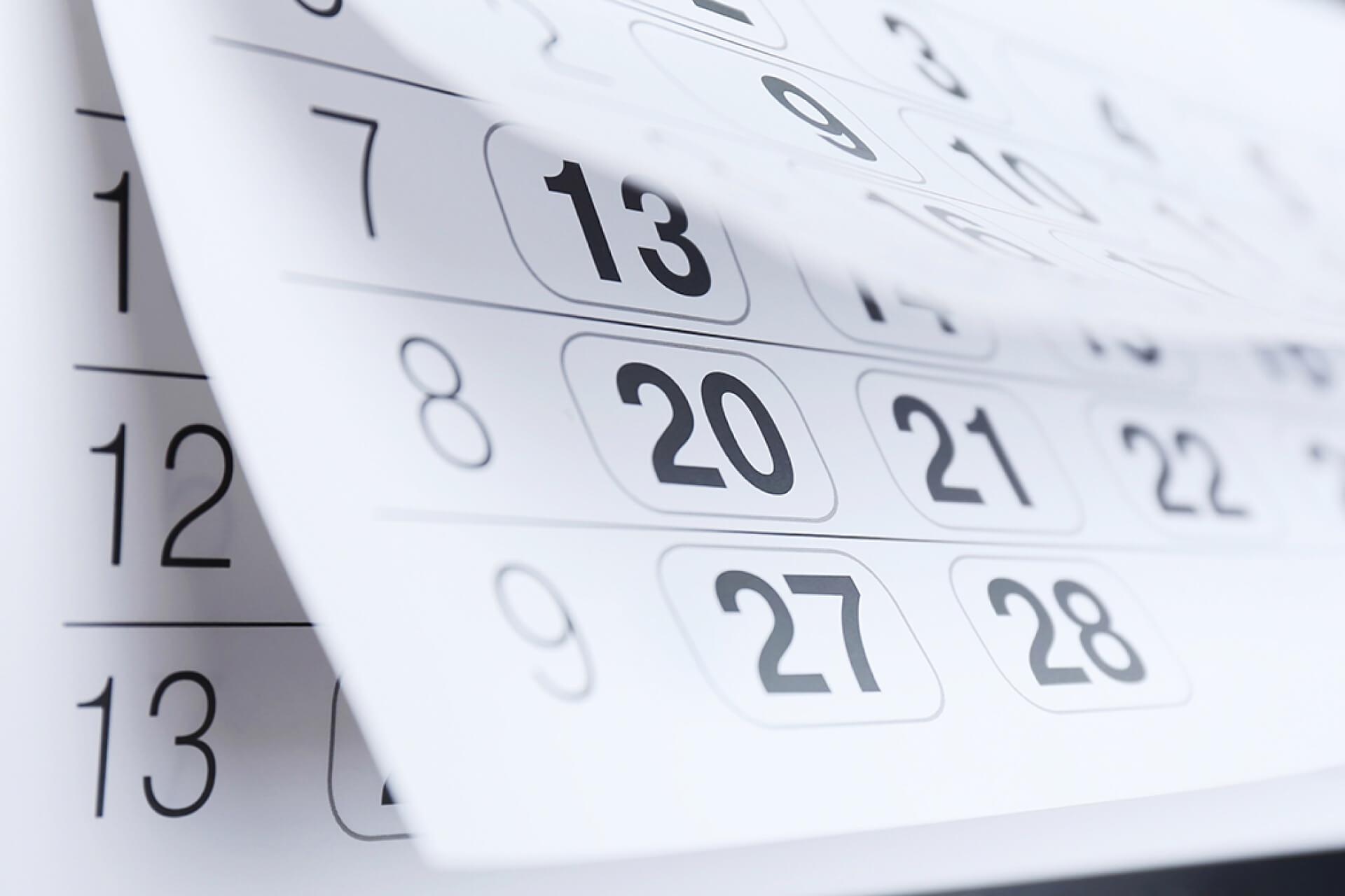 О продаже календарей и готовности к импульсным покупкам